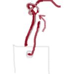 しおりの紐の通し方