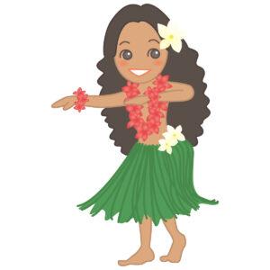 ハワイとプルメリアのイメージ