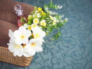 プルメリアの花と香りのイメージ