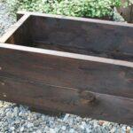木製長方形プランター