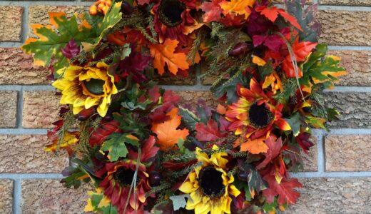 秋・冬のナチュラルリースの作り方!おススメの素材は?